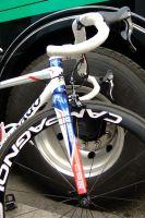 La fourche avant du vélo de Thomas Voeckler