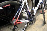 Du bleu-blanc-rouge pour le vélo de Thomas Voeckler