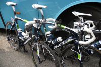 Le Pinarello de la formation Movistar Team