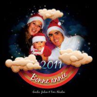 Emilie, Julien et Tom Absalon vous souhaitent une bonne année 2011