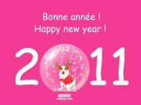 North vous souhaite une bonne année 2011