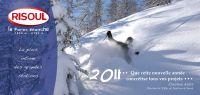 La station de Risoul souhaite que cette nouvelle année concrétise tous vos projets
