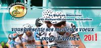 Tour Poitou Charentes vous souhaite une bonne année 2011