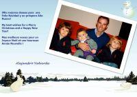 Alejandro Valverde vous souhaite une bonne année 2011