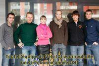 Toute l'équipe de Vélo 101 vous souhaite une bonne année 2011