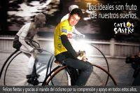 Les voeux de Carlos Sastre