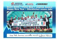 Les voeux en français de l'équipe Androni Giocattoli