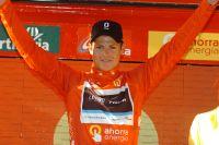 Jakob Fuglsang, premier maillot Rouge de la Vuelta 2011