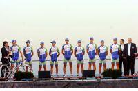 L'équipe Andalucia-Caja Granada sur le Tour d'Espagne