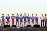 L'équipe Quick Step sur le Tour d'Espagne