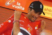 Daniele Bennati enfile le patelot de leader de la Vuelta