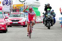 Une fois encore, David Moncoutié franchit une ligne d'arrivée du Tour d'Espagne en vainqueur
