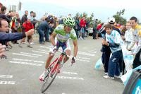 Joaquim Rodriguez accélère brusquement mais trop près de la ligne