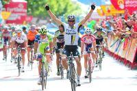 Michael Albasini s'impose pour la première fois dans une étape d'un Grand Tour