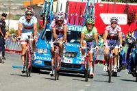 Grimaçant, Joaquim Rodriguez termine l'étape dans la douleur