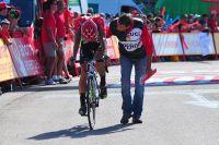 Juan-José Cobo vidé après la ligne : il est allé au bout de lui-même