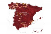 La carte du 66ème Tour d'Espagne
