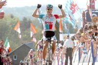 Philippe Gilbert fait un triomphe sur la Flèche Wallonne