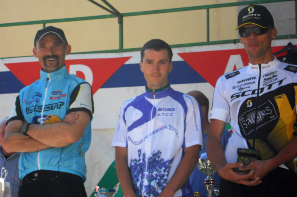 Le scratch 148 kilomètres : Gilly, Ligier, Ougier