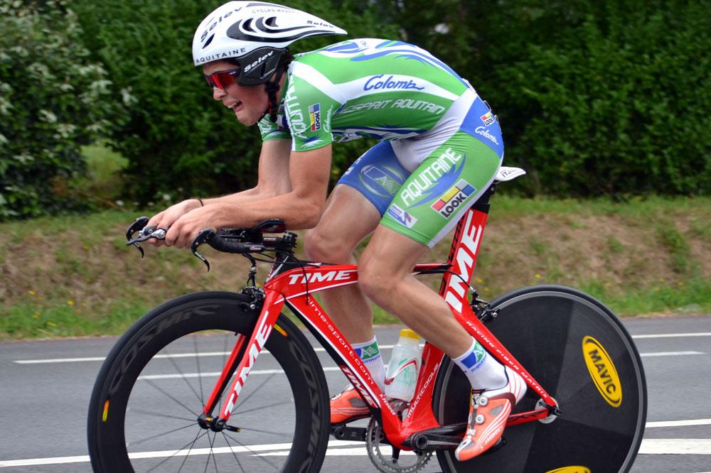 Alexis Guérin vers la 2ème place