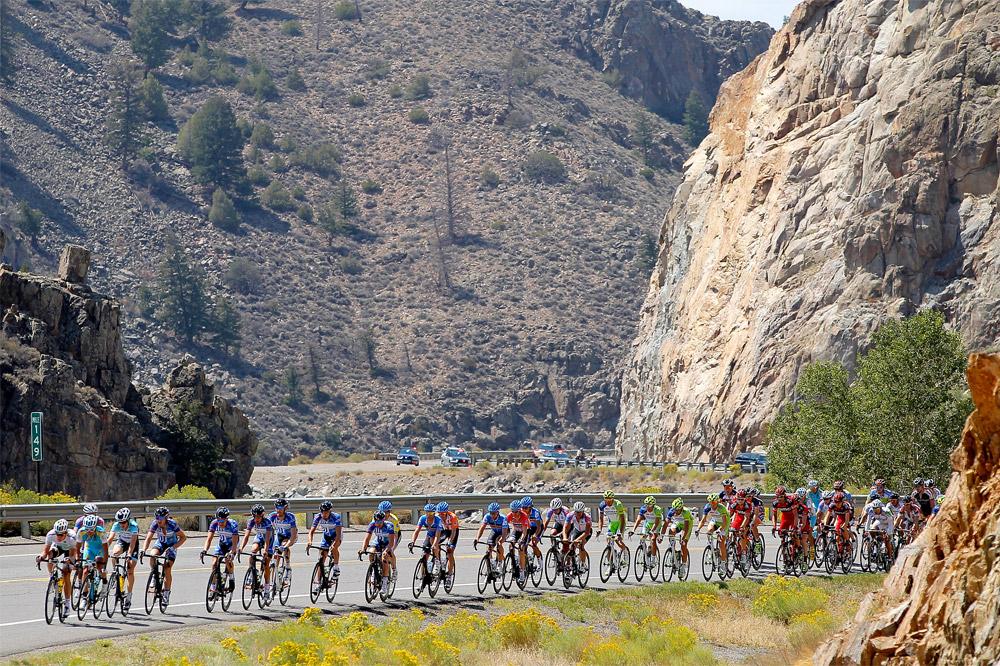 Le Tour du Colorado traverse les canyons