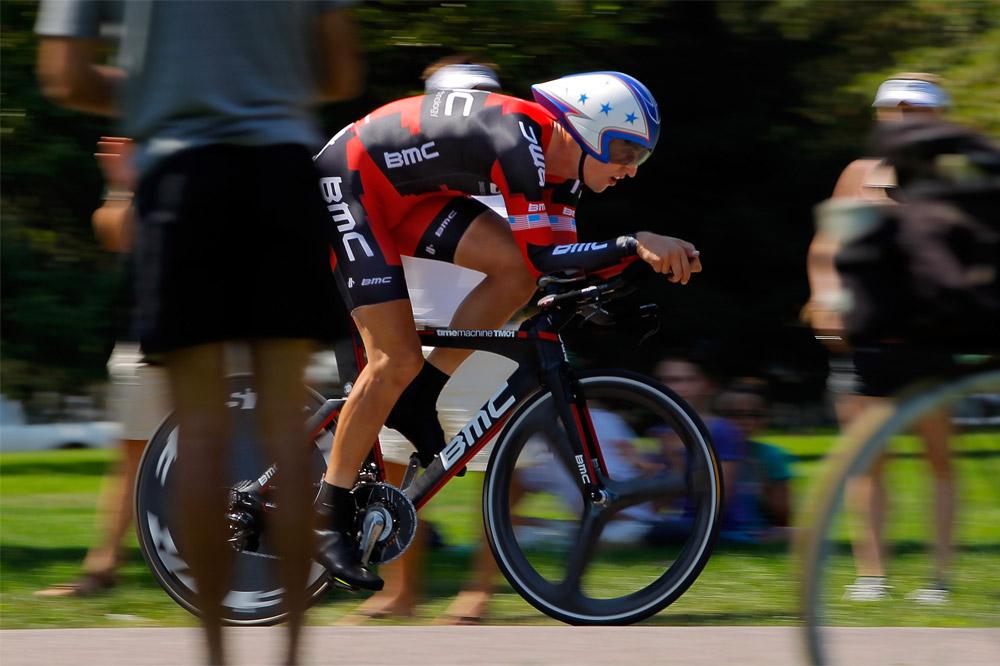 Taylor Phinney le plus rapide dans le contre-la-montre
