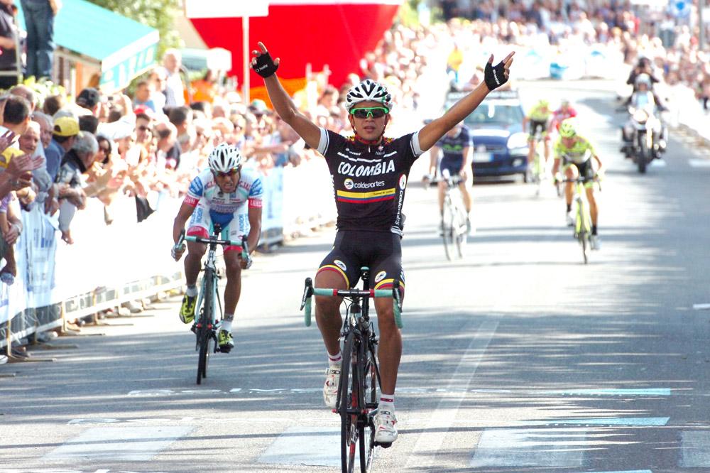 Fabio Duarte règle au sprint les échappés de la Coppa Sabatini