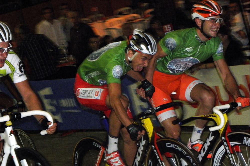 Bryan Coquard et Morgan Kneisky aux 4 Jours de Grenoble