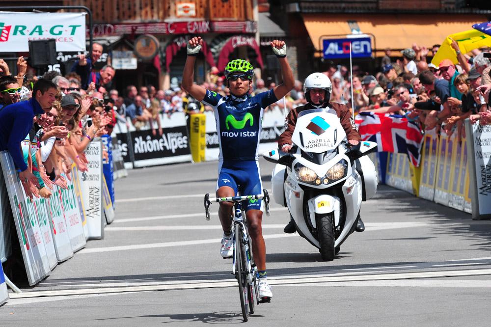 Nairo-Alexander Quintana gagne l'étape-reine du Dauphiné à Morzine