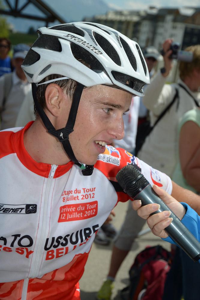 Robin Cattet grand vainqueur de l'Etape du Tour Acte 1