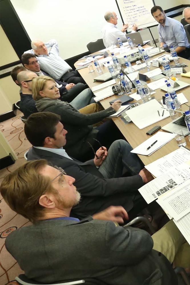 Eric Boyer a répondu présent à la table ronde proposée par Jaimie Fuller