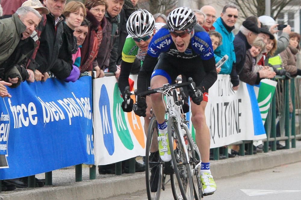 Julien Loubet file vers la victoire au Tour de Basse Navarre