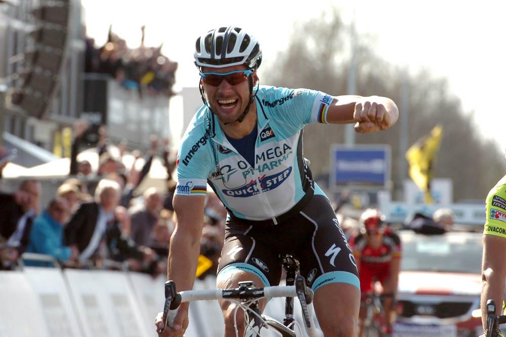 Tom Boonen gagne le Tour des Flandres