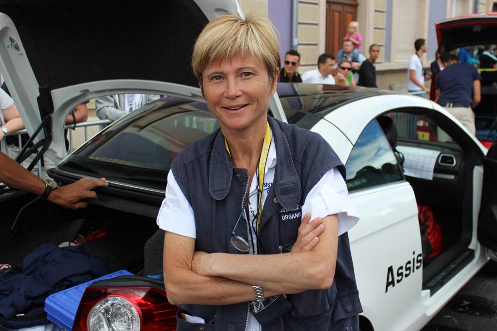 Le médecin-chef du Tour de France Florence Pommerie