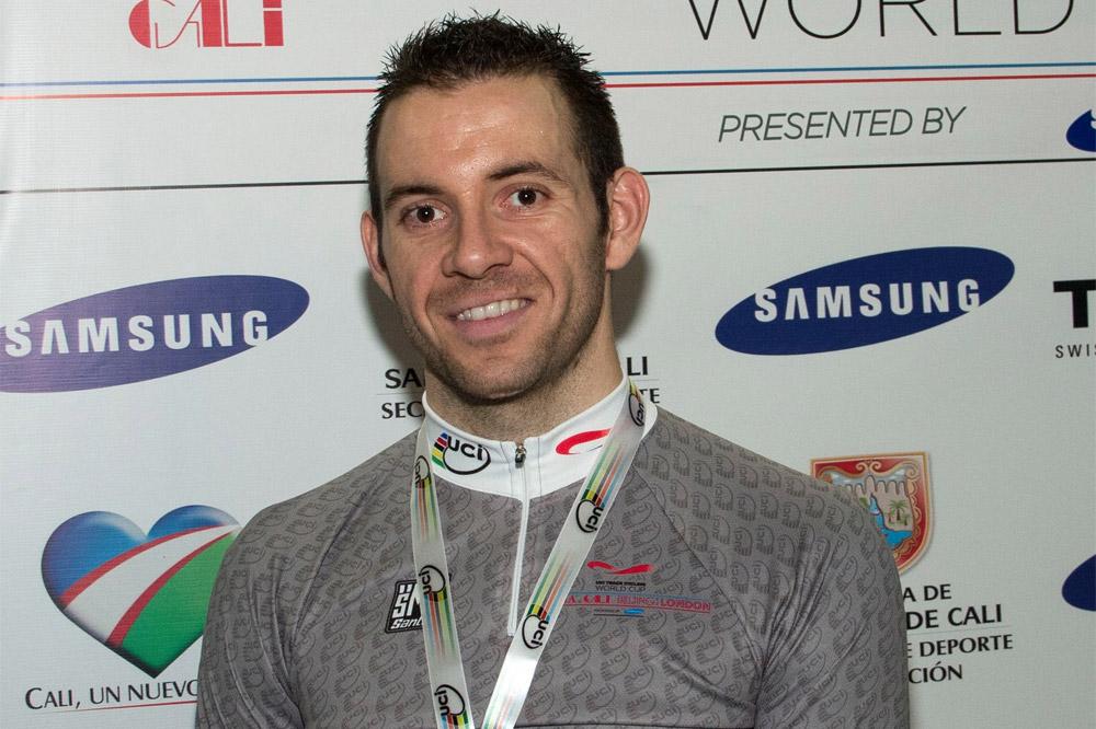François Pervis est le leader de la Coupe du Monde du kilomètre