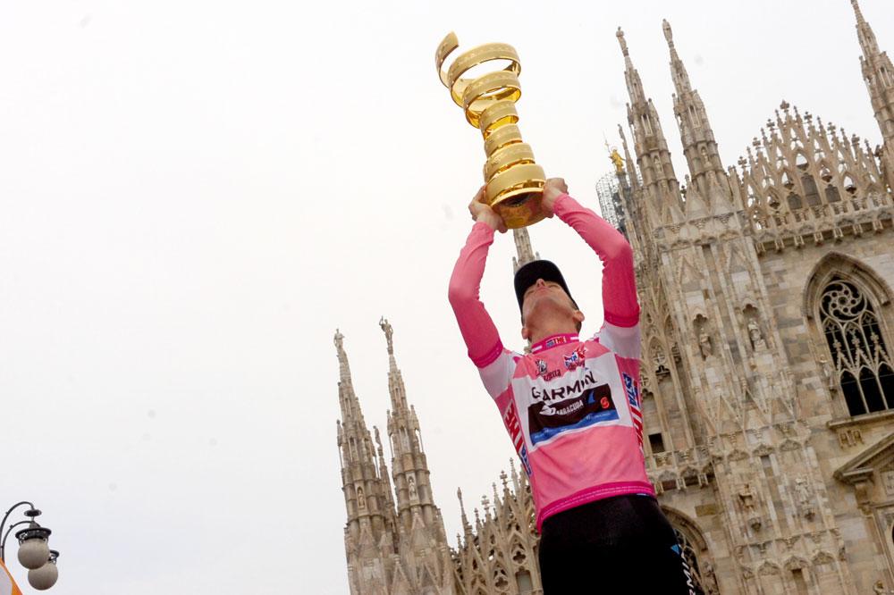 Ryder Hesjedal est le vainqueur de la 95ème édition du Tour d'Italie