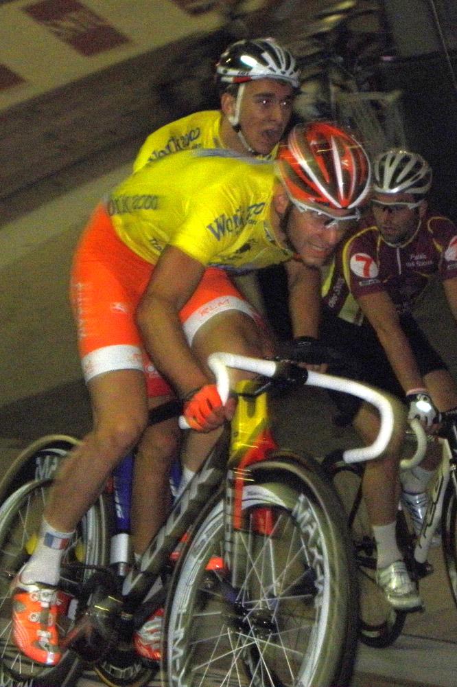 Morgan Kneisky et Bryan Coquard en jaune