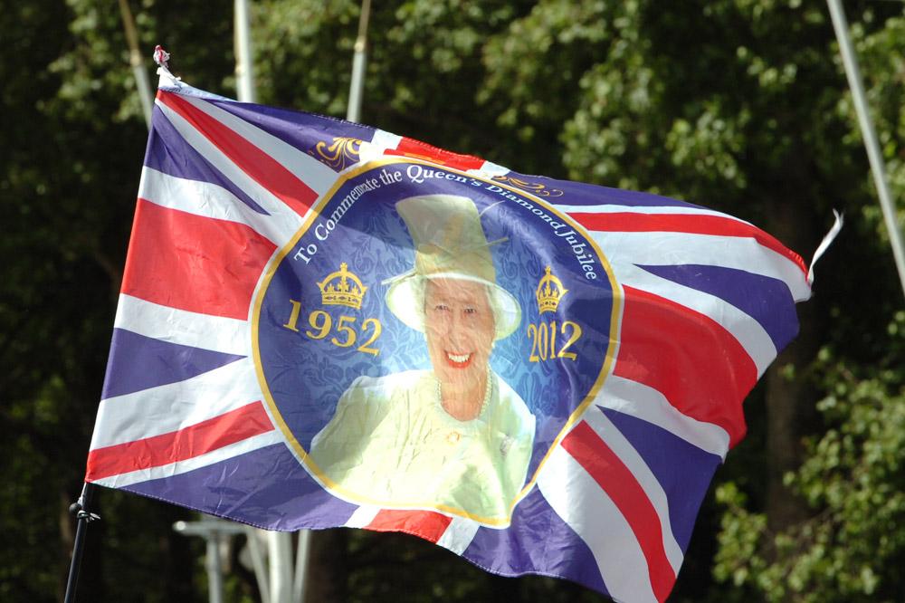 La reine est partout dans Londres !