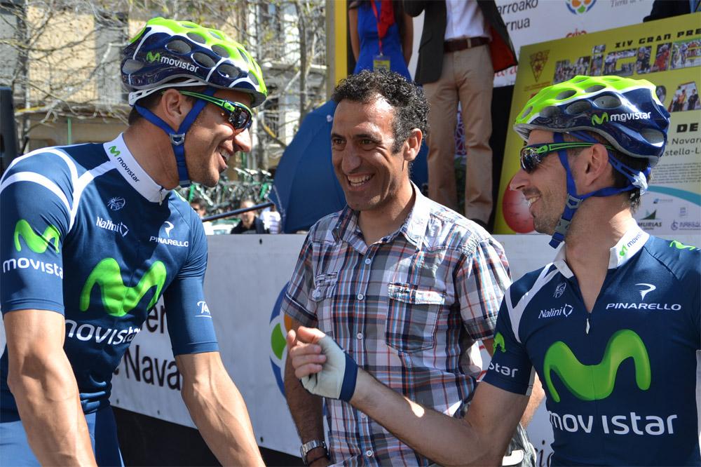 José-Vicente Garcia-Acosta a repris le contact avec le cyclisme