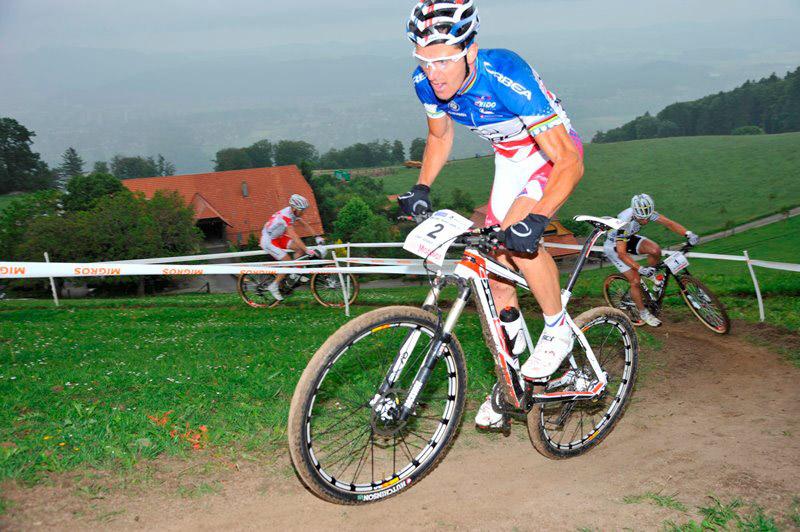 Julien Absalon entretient sa condition à Berne