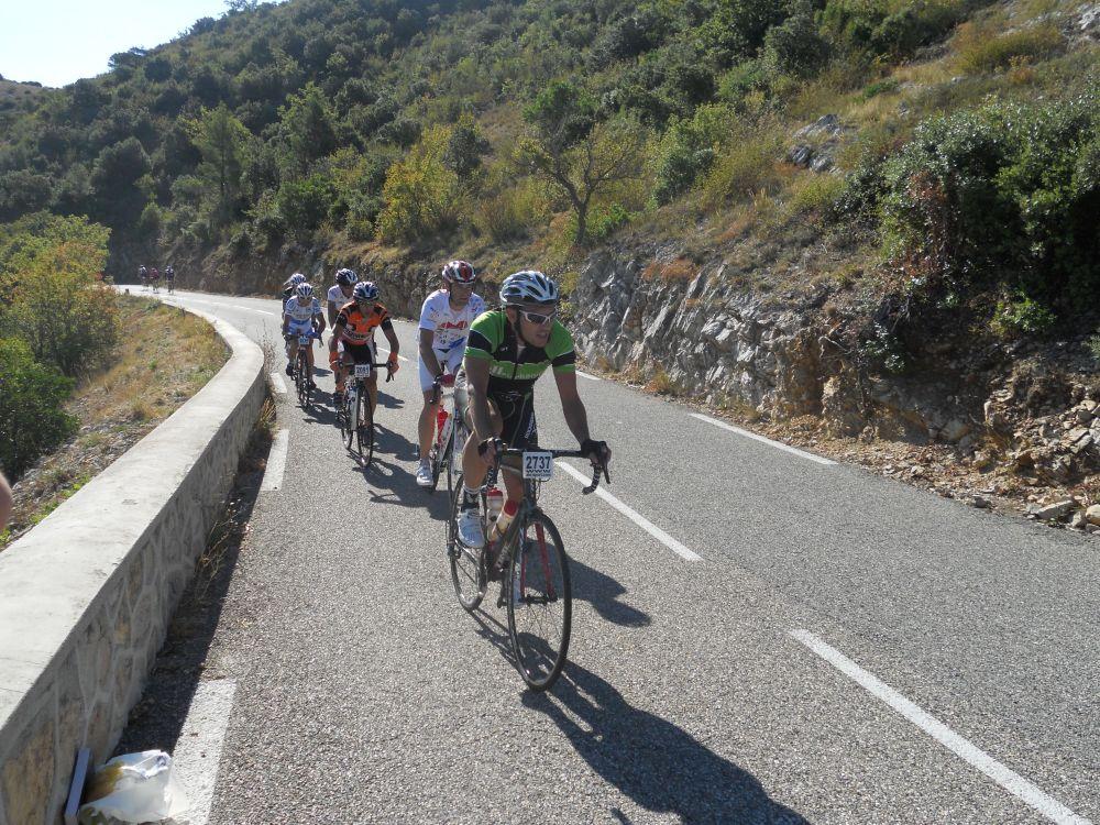 Les coureurs de l'édition 2012 des Bosses du 13