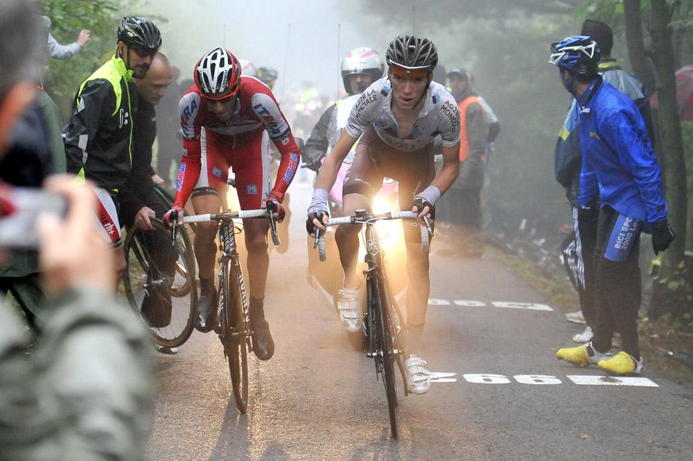 Romain Bardet encore à l'attaque, cette fois au Lombardie