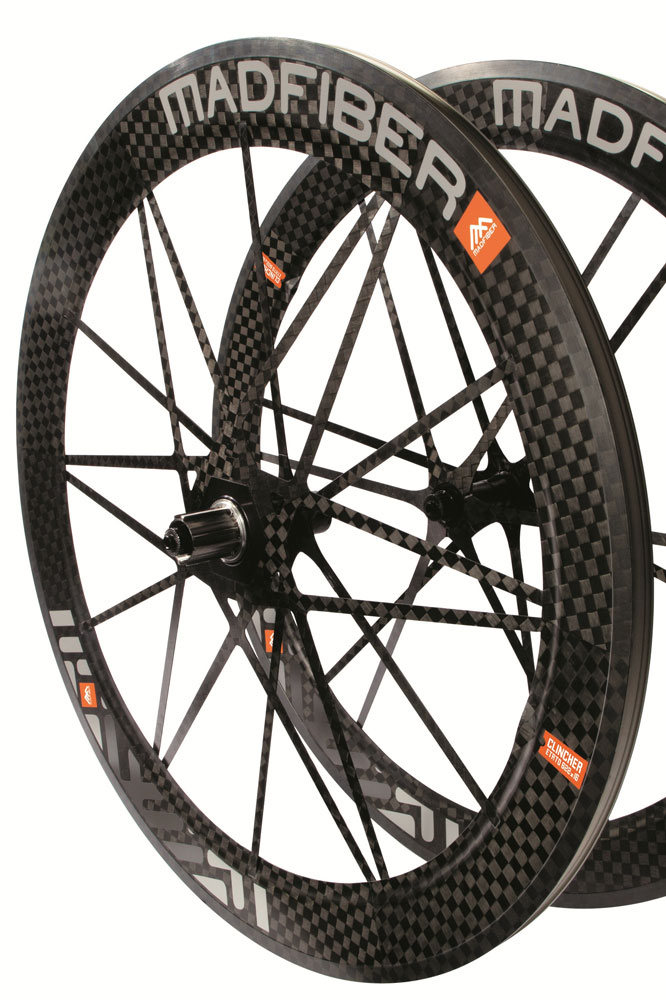 Les roues Mad Fiber sont maintenant disponibles en version pneus