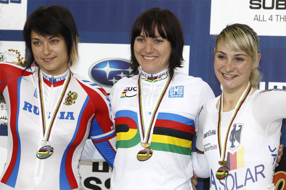 Anna Meares championne du monde de keirin