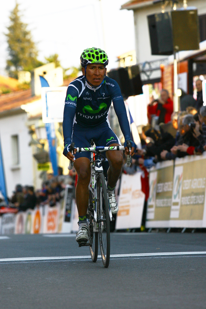 Nairo Quintana Rojas termine à la 11ème place