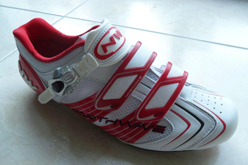 Les chaussures Northwave Evolution étaient celles de Philippe Gilbert en 2011