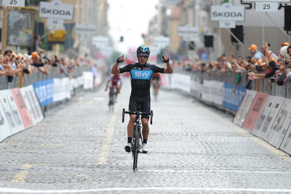 Rigoberto Uran vainqueur dans le Piémont