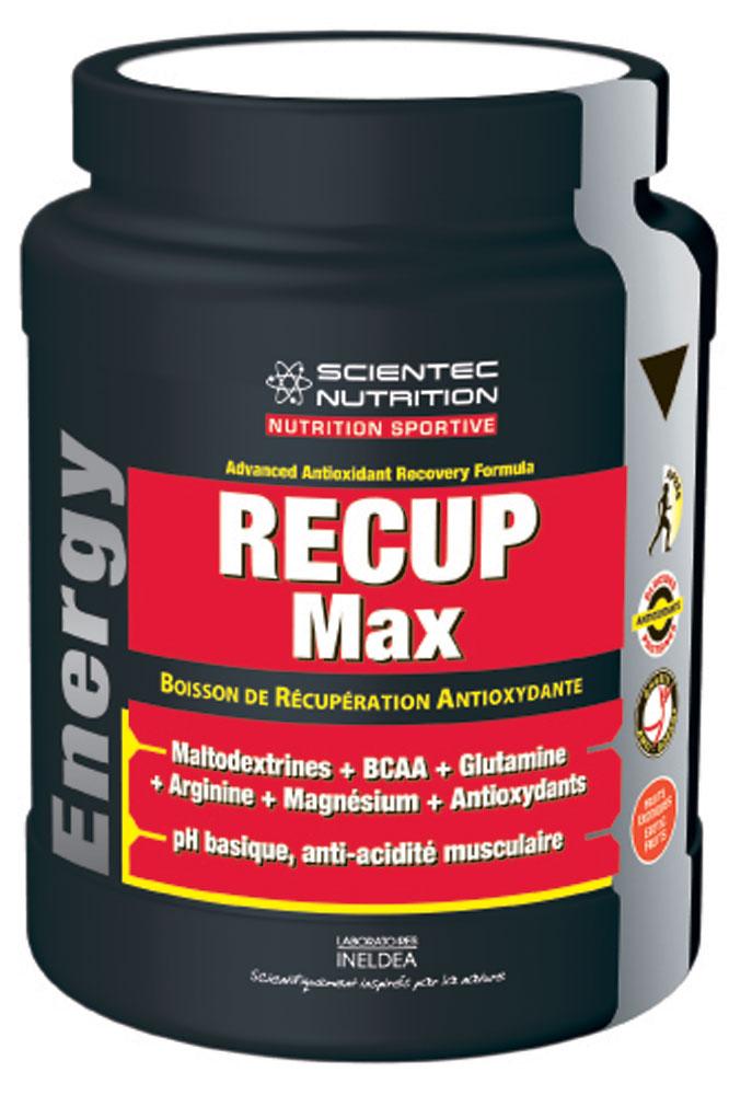 Recup Max, la boisson de récupération de Scientec Nutrition
