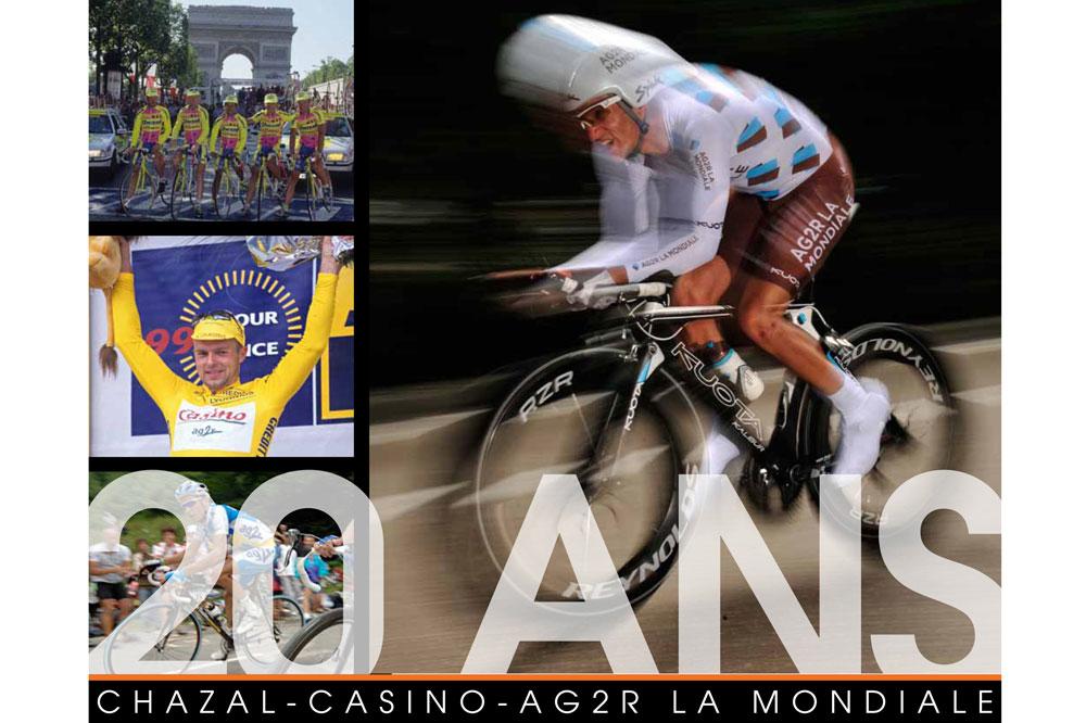 Un livre sur les 20 ans de France Cyclisme