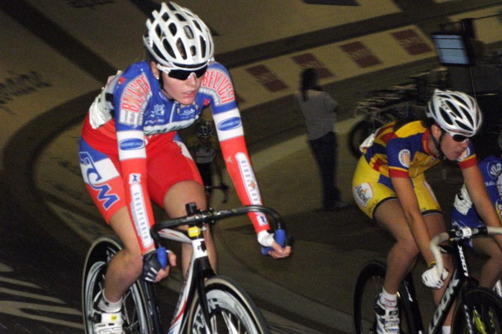 La championne de France Soline Lamboley